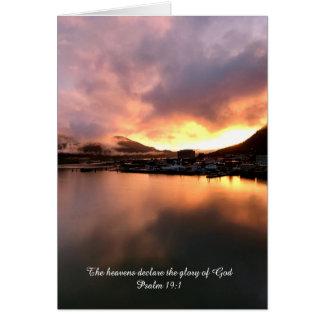 Psalm 19 karte