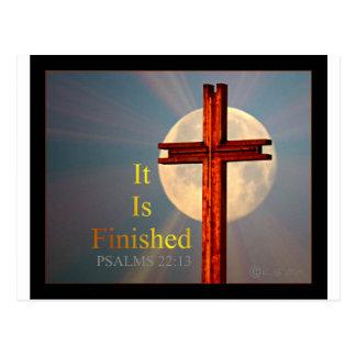 Psalm-22:13 Postkarte