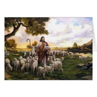 Psalm 23 der Lord ist meine Schäfers-Karte Mitteilungskarte