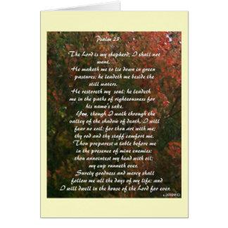 """""""Psalm 23"""" Karte"""