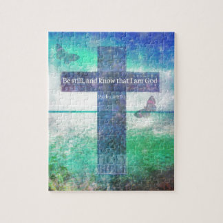 Psalm-46:10, das Bibel-Vers anregt Puzzle