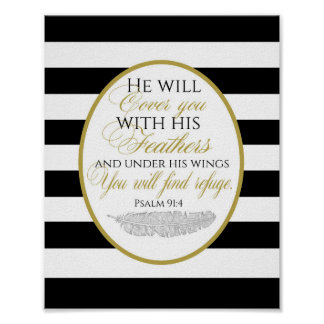 Psalm-91:2 Plakat