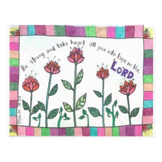 Psalm Postkarte