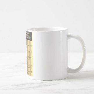Psalme 100 - Gold Kaffeetasse