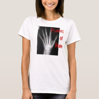 Psalme des Ruine-Handt-stücks T-Shirt