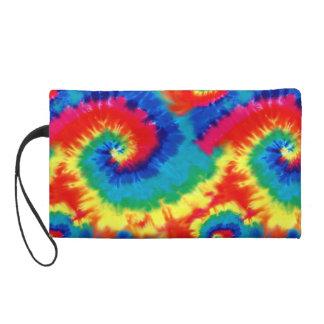 Psychedelische gefärbte Krawatte Bagettes Tasche
