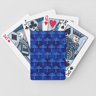 Psychedelische Pilze Pokerkarten