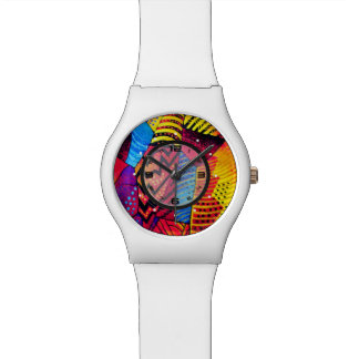 psychedelische Uhr des Musters may28th