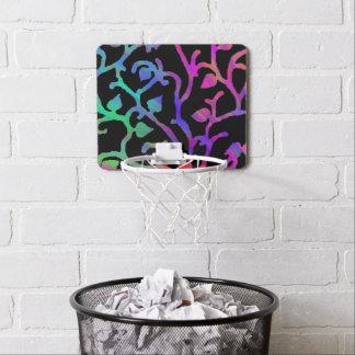 Psychedelischer Baum des Lebens Mini Basketball Netz
