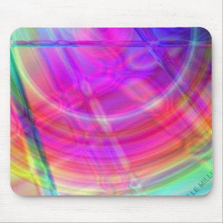 Psychedelischer Kreis Mousepad
