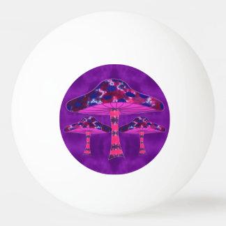 Psychedelischer Pilz Tischtennis Ball