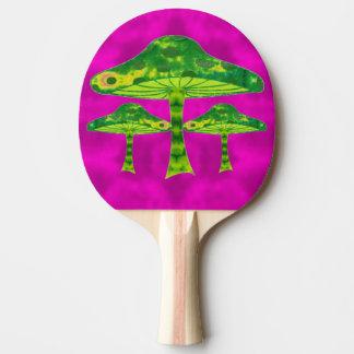 Psychedelischer Pilz Tischtennis Schläger