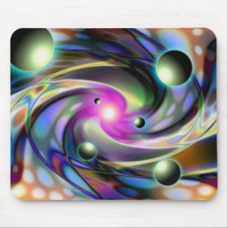 Psychedelisches Maße mousepad