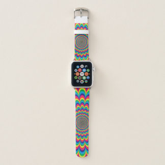 Psychedelisches Muster Apple Watch Armband
