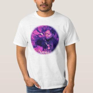 Psychedelisches T-Stück durch C. Grampp (weiß) T-Shirt