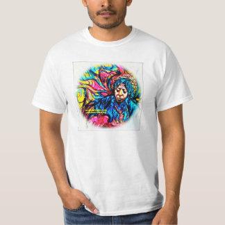 Psychedelisches T-Stück durch F.Bizo Weiß T-Shirt