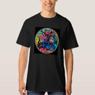 Psychedelisches T-Stück gemalt von Fabricio Bizo T-Shirt