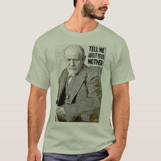 Psychoanalyse, psychoanalytische Therapie, FREUD T-Shirt
