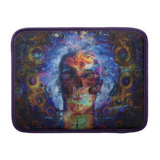 Psychodelic Kunst des Schädels Sleeve Fürs MacBook Air