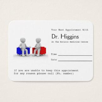 Psychologe oder Beratung der Visitenkarte