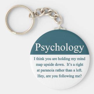 Psychologie Keychain Standard Runder Schlüsselanhänger