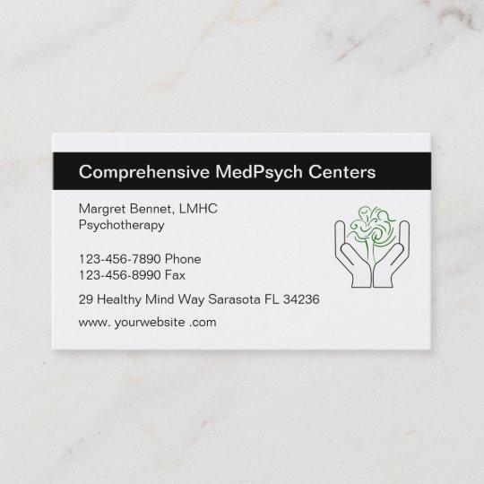 Psychotherapie Visitenkarten Visitenkarte Zazzle At