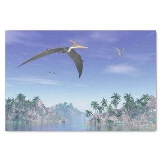Pteranodon Vögel - 3D übertragen Seidenpapier