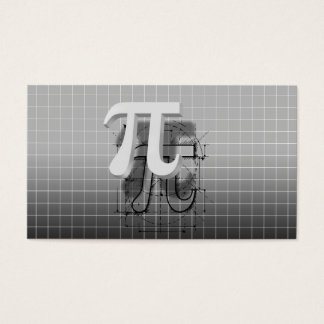 PU-Symbol-Kunst, Mathe-Anweisung Visitenkarte