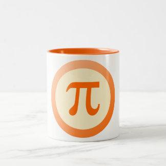 PU-Symbol Zweifarbige Tasse