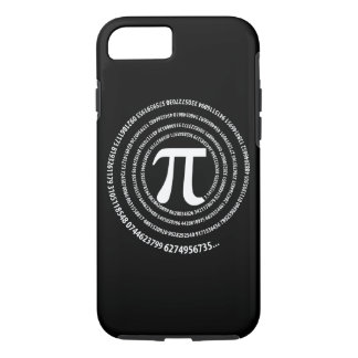 PU-Zahl-Entwurf iPhone 8/7 Hülle