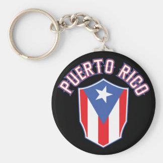 Puerto Rico groß und mutig Schlüsselanhänger