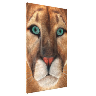 Puma Leinwanddruck