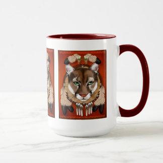 Puma-Schild-Tassen Tasse