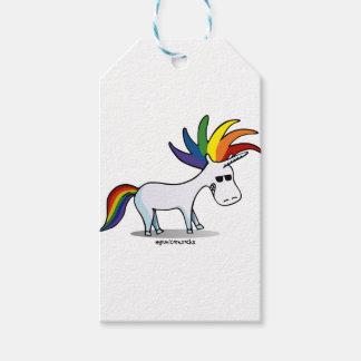 Punk Unicorn - Punk Einhorn Geschenkanhänger
