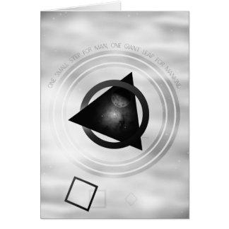 Punkt zum Mond Karte
