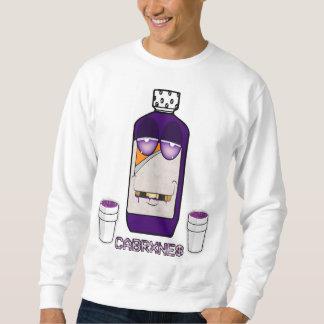 Purple and codeine sweatshirt