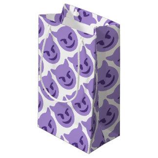 Purple Devil Emoji Kleine Geschenktüte