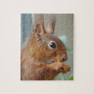 Puzzle Eichhörnchen Squirrel Écureuil - by GLINEUR