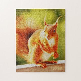 PUZZLE Squirrel - Foto: Jean-Louis Glineur