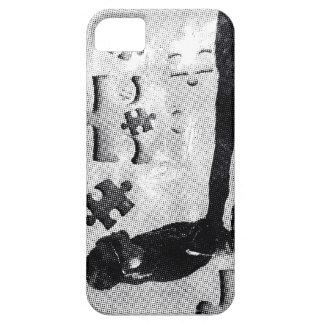 PUZZLE VINTAGE iPhone 5 ETUIS
