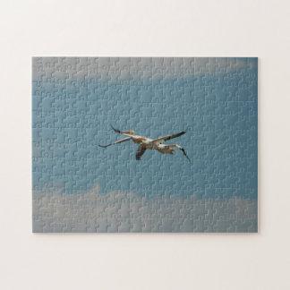 Puzzlespiel des Fliegen-Pelikan-2 Puzzle