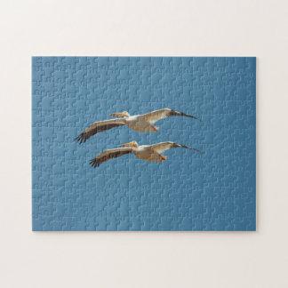 Puzzlespiel des Fliegen-Pelikan-3 Puzzle