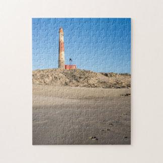 Puzzlespiel Dias des Punkt-Leuchtturmes mit Puzzle