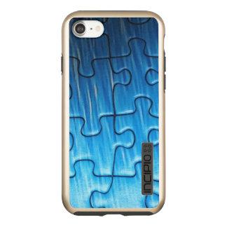 Puzzlespiel iPhone 7 DualPro Glanz, Gold Incipio DualPro Shine iPhone 8/7 Hülle