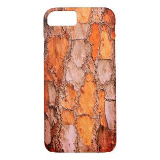 Puzzlespiel-Kiefer-Barke Floridas orange iPhone 8/7 Hülle