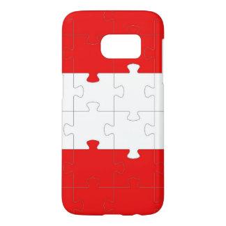Puzzlespiel-Samsung-Galaxie S7, kaum dort
