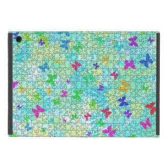 Puzzlespiel-Schmetterlinge und iPad Mini Hülle
