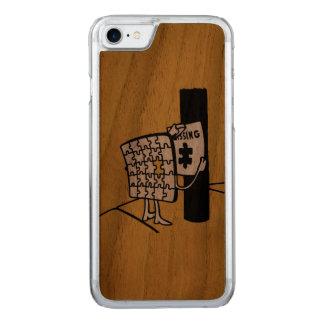 Puzzlespiel vermisst carved iPhone 8/7 hülle