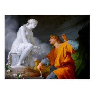 Pygmalión (griechische Mythologie - Galathea) ~ Postkarte
