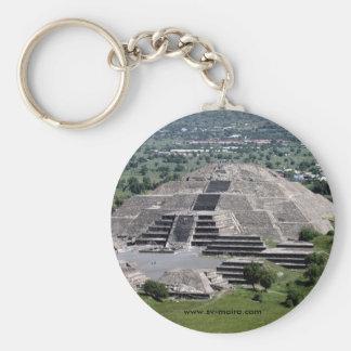 Pyramide des Mondes, Teotihuacan, Mexiko Schlüsselanhänger